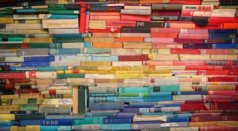 assorted-color filling book lot